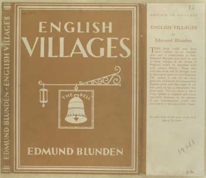 Dust Jackets - English villages.