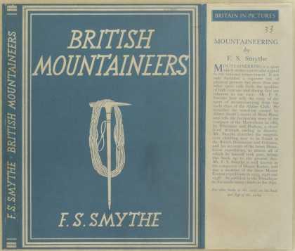 Dust Jackets - British mountaineers.