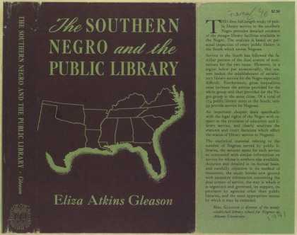 Dust Jackets - The southern Negro and th