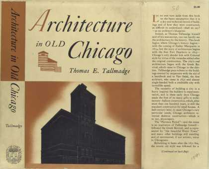 Dust Jackets - Architecture in old Chica
