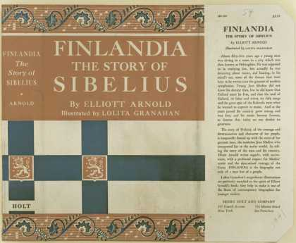 Dust Jackets - Finlandia the story of S