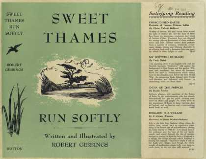 Dust Jackets - Sweet Thames run softly .