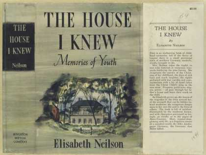 Dust Jackets - The house I knew memorie