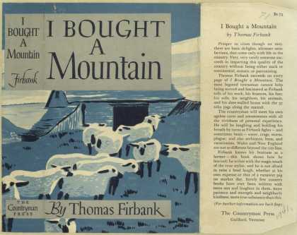 Dust Jackets - I bought a mountain.