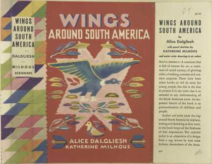Dust Jackets - Wings around South Americ