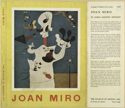Dust Jackets - Joan Miro.