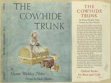 Dust Jackets - The cowhide trunk.