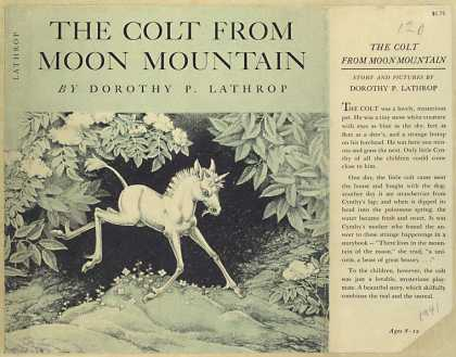 Dust Jackets - The colt from Moon mounta