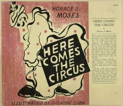 Dust Jackets - Here comes the circus.
