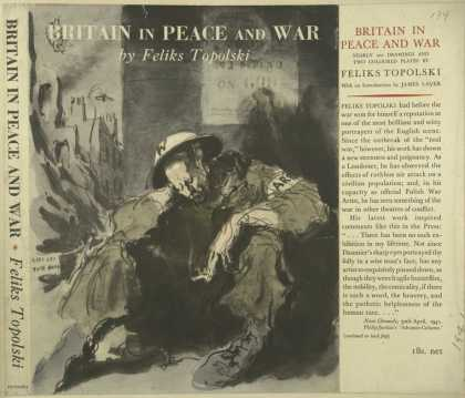 Dust Jackets - Britain in peace and war.