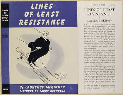 Dust Jackets - Lines of least resistance