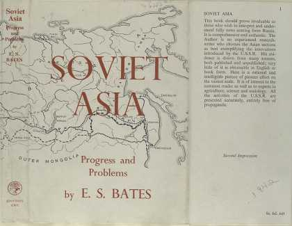 Dust Jackets - Soviet Asia progress and