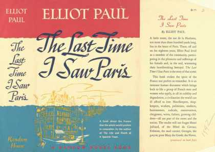 Dust Jackets - The last time I saw Paris