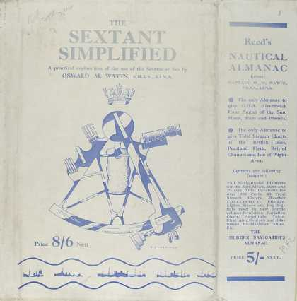 Dust Jackets - The sextant simplified a