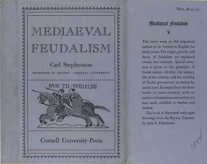Dust Jackets - Mediaeval feudalism.