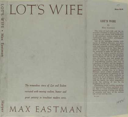 Dust Jackets - Lot's wife.