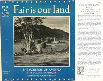 Dust Jackets - Fair is our land.