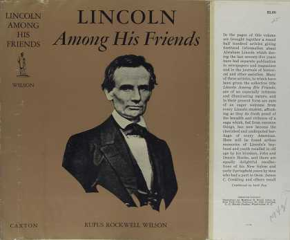 Dust Jackets - Lincoln among his friends