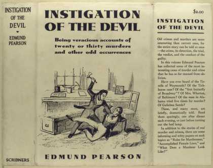 Dust Jackets - Instigation of the devil.