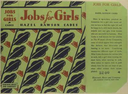 Dust Jackets - Jobs for girls.
