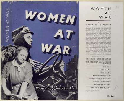 Dust Jackets - Women at war.