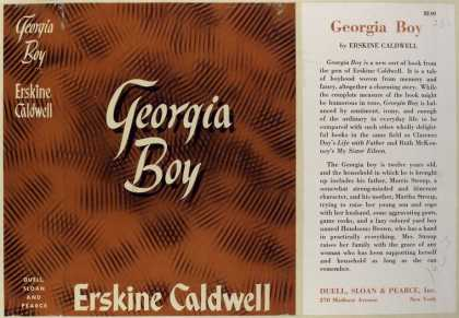 Dust Jackets - Georgia boy.