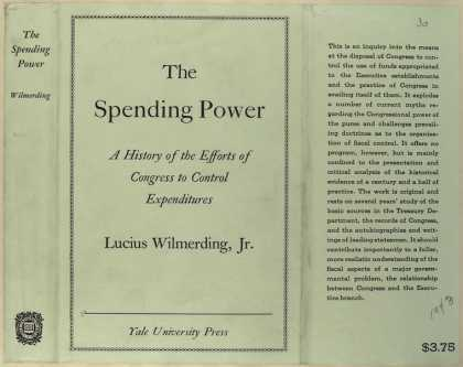 Dust Jackets - The spending power a his