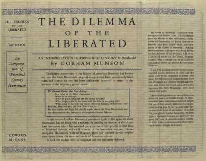 Dust Jackets - The dilemma of the libera