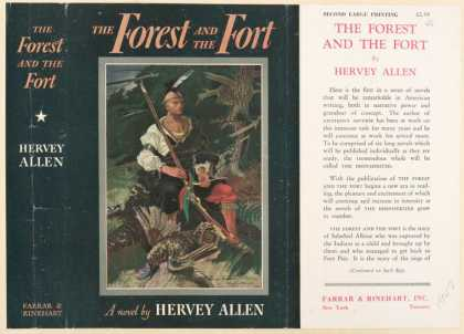 Dust Jackets - The forest and the fort.