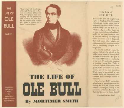 Dust Jackets - The life of Ole Bull.