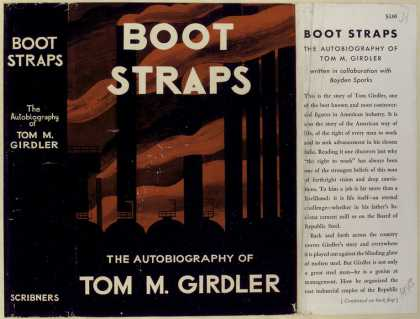 Dust Jackets - Boot straps, the autobiog