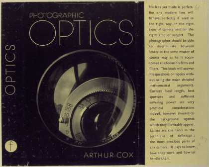 Dust Jackets - Photographic optics.