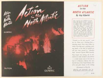 Dust Jackets - Action in the north Atlan
