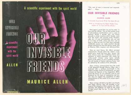 Dust Jackets - Our invisible friends.