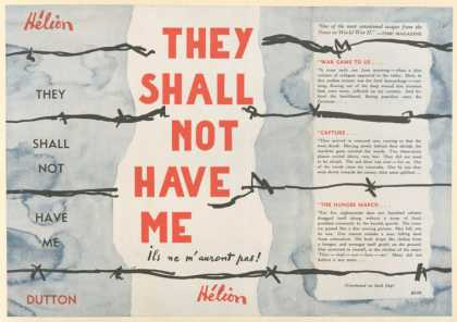 Dust Jackets - They shall not have me (I
