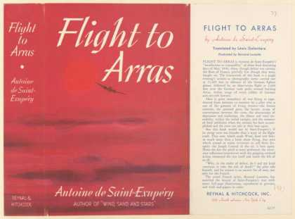 Dust Jackets - Flight to Arras.