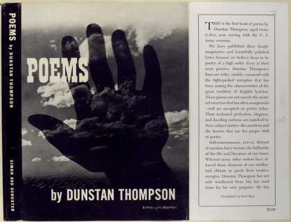 Dust Jackets - Poems.