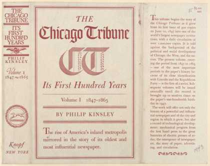Dust Jackets - The Chicago tribune, its