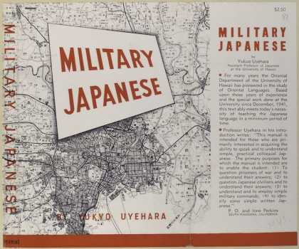 Dust Jackets - Military Japanese.