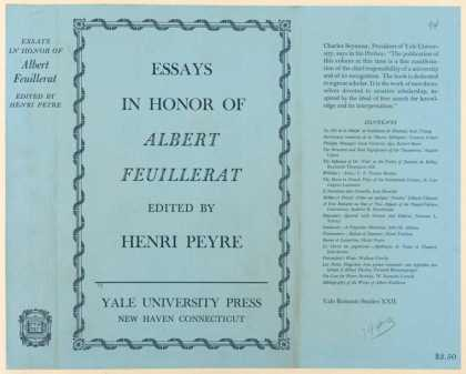 Dust Jackets - Essays in honor of Albert