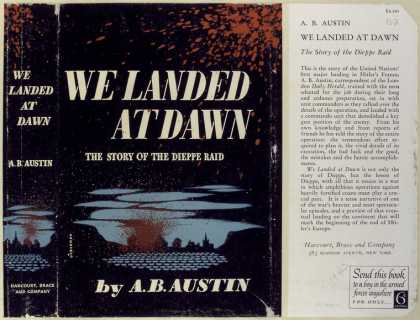 Dust Jackets - We landed at dawn the st