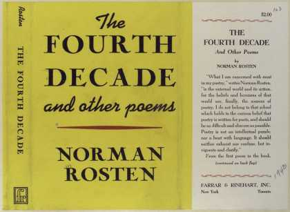 Dust Jackets - The fourth decade and oth