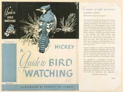 Dust Jackets - A guide to bird watching.
