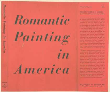 Dust Jackets - Romantic painting in Amer