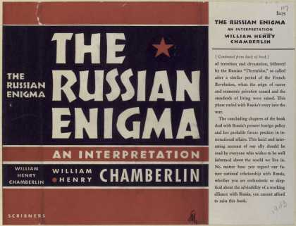 Dust Jackets - The Russian enigma, an in