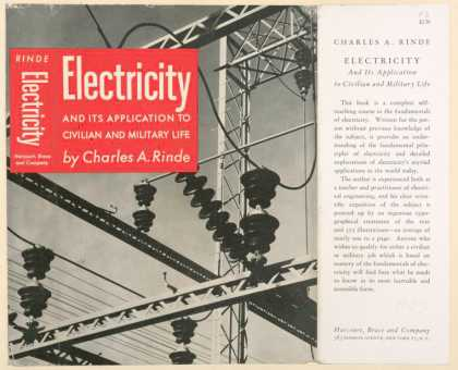 Dust Jackets - Electricity and its appli