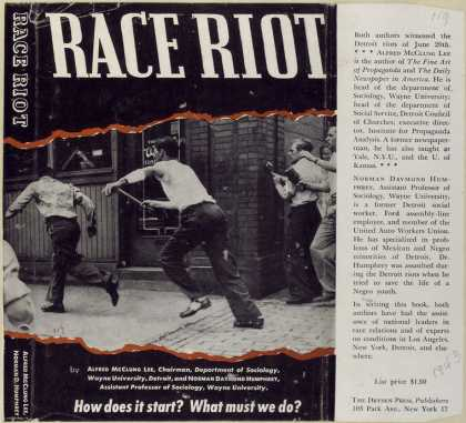 Dust Jackets - Race riot.