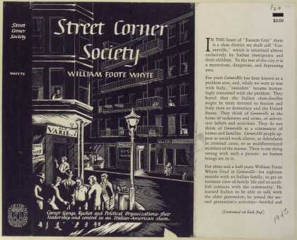 Dust Jackets - Street corner society.