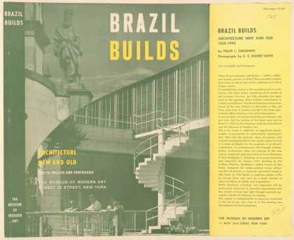 Dust Jackets - Brazil builds architectu