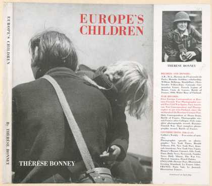 Dust Jackets - Europe's children.